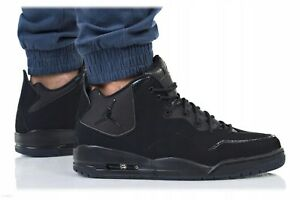 New-AIR-JORDAN-Courtside-23-Sneaker-Mens-triple-black-sizes-9-5-10-10-5