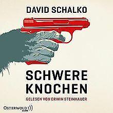 Schwere-Knochen-2-CDs-von-Schalko-David-Buch-Zustand-gut