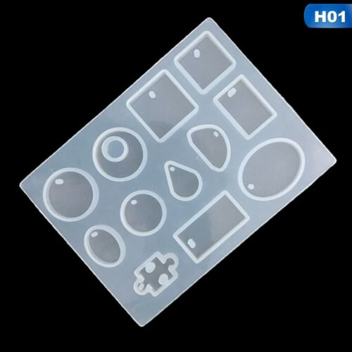 DIY Craft Resin Casting Molds Kit Silicone Mold Making Jewelry Pendant Mould`