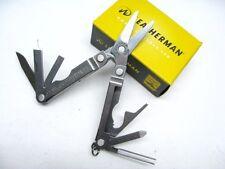 LEATHERMAN Stainless MICRA Multi-Tool SCISSORS Knife Driver Opener! 64010101K