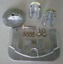 Mercruiser Bravo III 3 Aluminum Anode Kit NEW DEALER DIRECT Military Grade