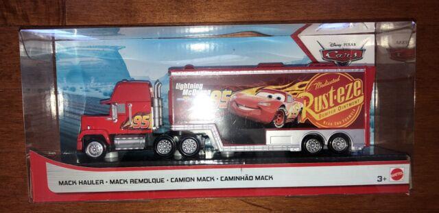 Disney Pixar Cars Color Change Mack Dip Dunk Trailer Truck For