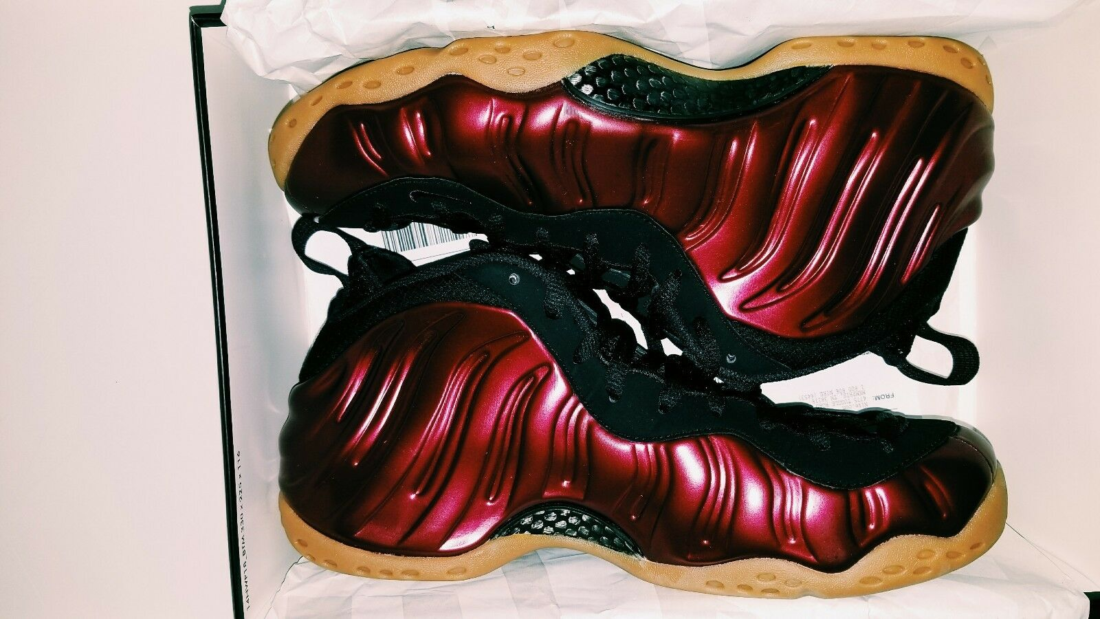 Air Foamposite one 10.5 night maroon