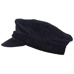SALE Corduroy Fiddler Captain Hat 1960s Retro Style Cap by G H Hats ... 004bed06cc7
