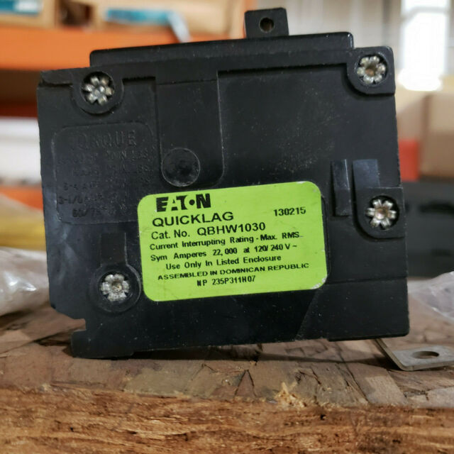 Cutler Hammer QBHW QBHW1030 30 amp 1 pole Circuit Breaker