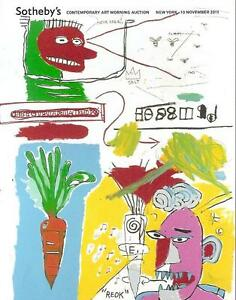 Sotheby's // Contemporary Art Morning Session Auction Catalog November 2011