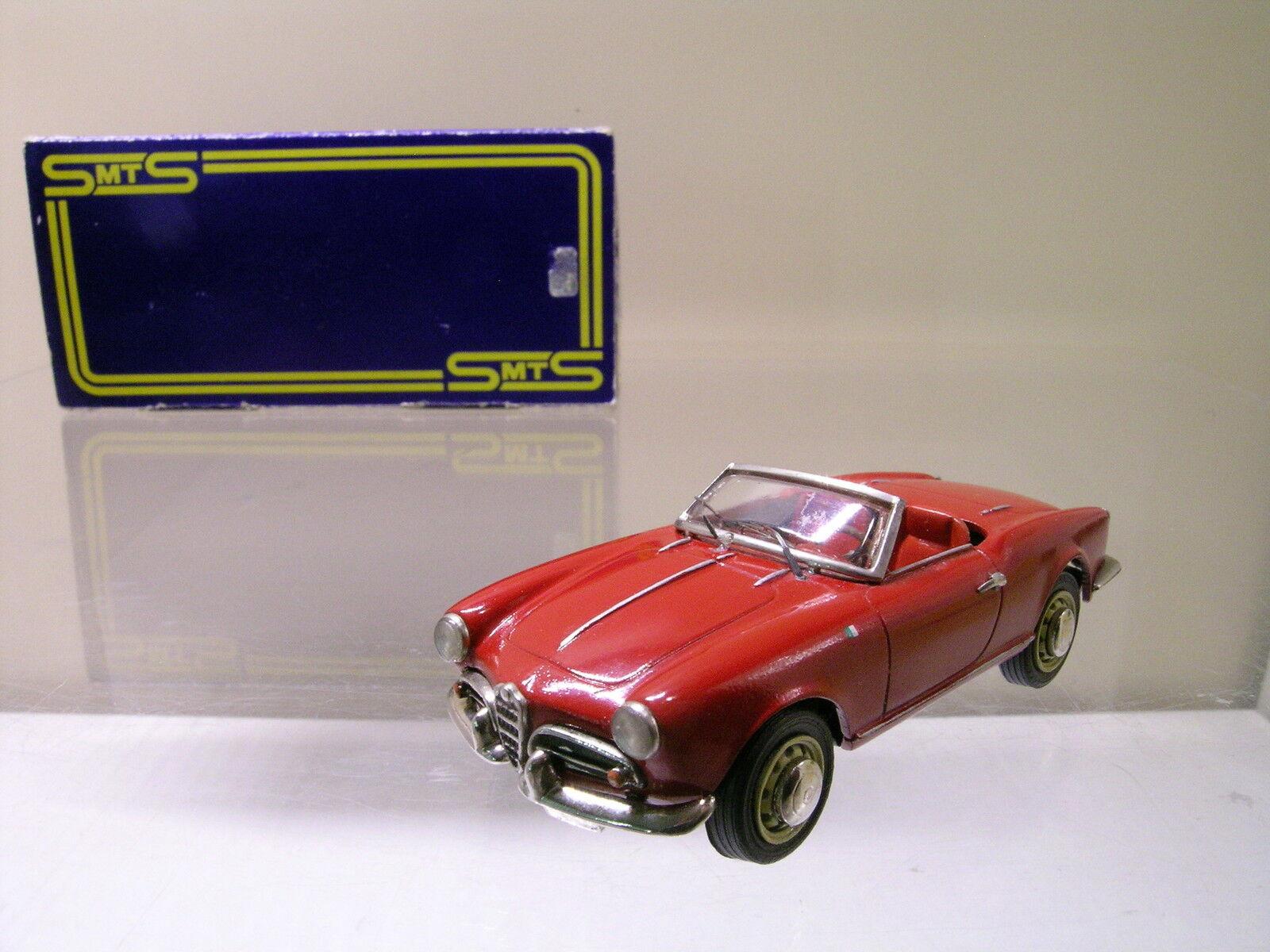 SMTS-MODELS CL15 ALFA ROMEO GIULIETTA SPYDER OPEN Rojo  BOX 143