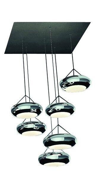 Lumière Pendante LED Dimmable LED Anneau Suspensions Sompex Aura