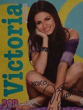 VICTORIA JUSTICE - A4 Poster (20 x 27 cm) - Fan Sammlung Clippings Ausland USA