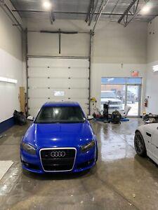 Audi s4 2007 nogaro blue