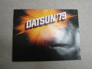Datsun-79-1979-Car-Truck-Advertising-Brochure