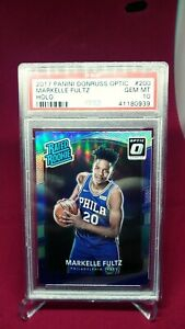 2017 Optic Markelle Fultz Holo Prizm RC PSA 10 Gem Mint