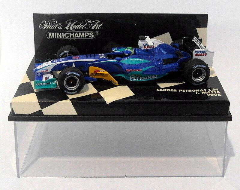 Minichamps 1 43 Scale diecast - 400 050012 Sauber Petronas C24 F.Massa 2005