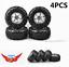 4X-130mm-Tires-amp-Wheel-Hex-Rim-For-1-10-RC-Bigfoot-Monster-Climbing-Crawler-Truck thumbnail 1