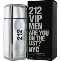 212 Vip By Carolina Herrera Cologne For Men 3.4 Oz Brand In Box on sale