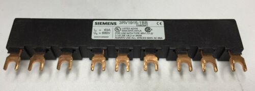 Siemens sammelschiene 3rv1915-1bb