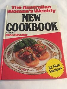 Image Is Loading The Australian Womens Weekly New Cookbook Vintage Recipe