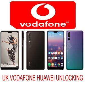 Details about UK VODAFONE HUAWEI P20 PRO P20 P20 LITE MATE 10 MATE 9 HONOR  9 LITE UNLOCK CODE