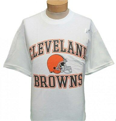 NEW!! Cleveland Browns Short Sleeve T-Shirt - White - Large - X-Large