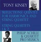 Tony Kinsey: 'Reflections': Quintet for Harmonica & String Quartet; String Quartets Nos. 1 & 2 (CD, Oct-2014, 2 Discs, Trapeze)