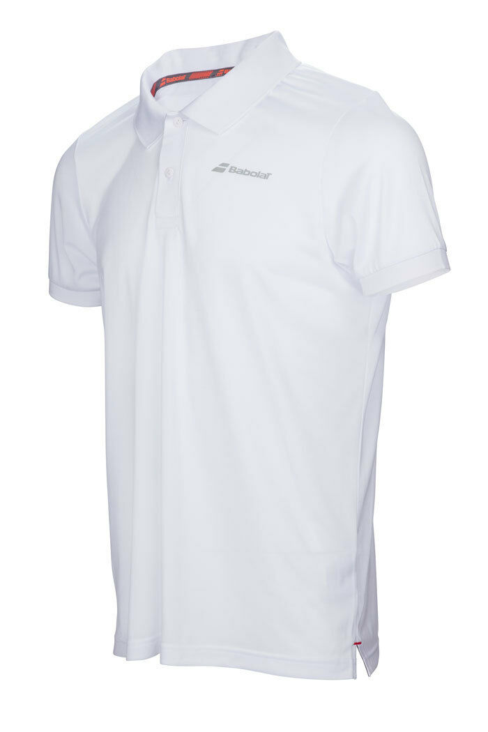 PROMO BABOLAT POLO HOMME CORE CLUB BLANC TAILLE ! L ! TAILLE 285c52
