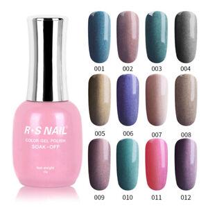 RS-NAIL-Gel-Nail-Polish-UV-LED-Glitter-Meteorite-Magnetic-Wand-15ml