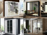 Brand Modern Bedroom Sliding Door Wardrobe Dako Furniture In Size 203cm