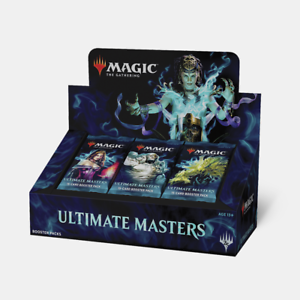 Magic the Gathering Ultimate Masters Booster box NEW NEW NEW UNOPENED with box topper 702b0b