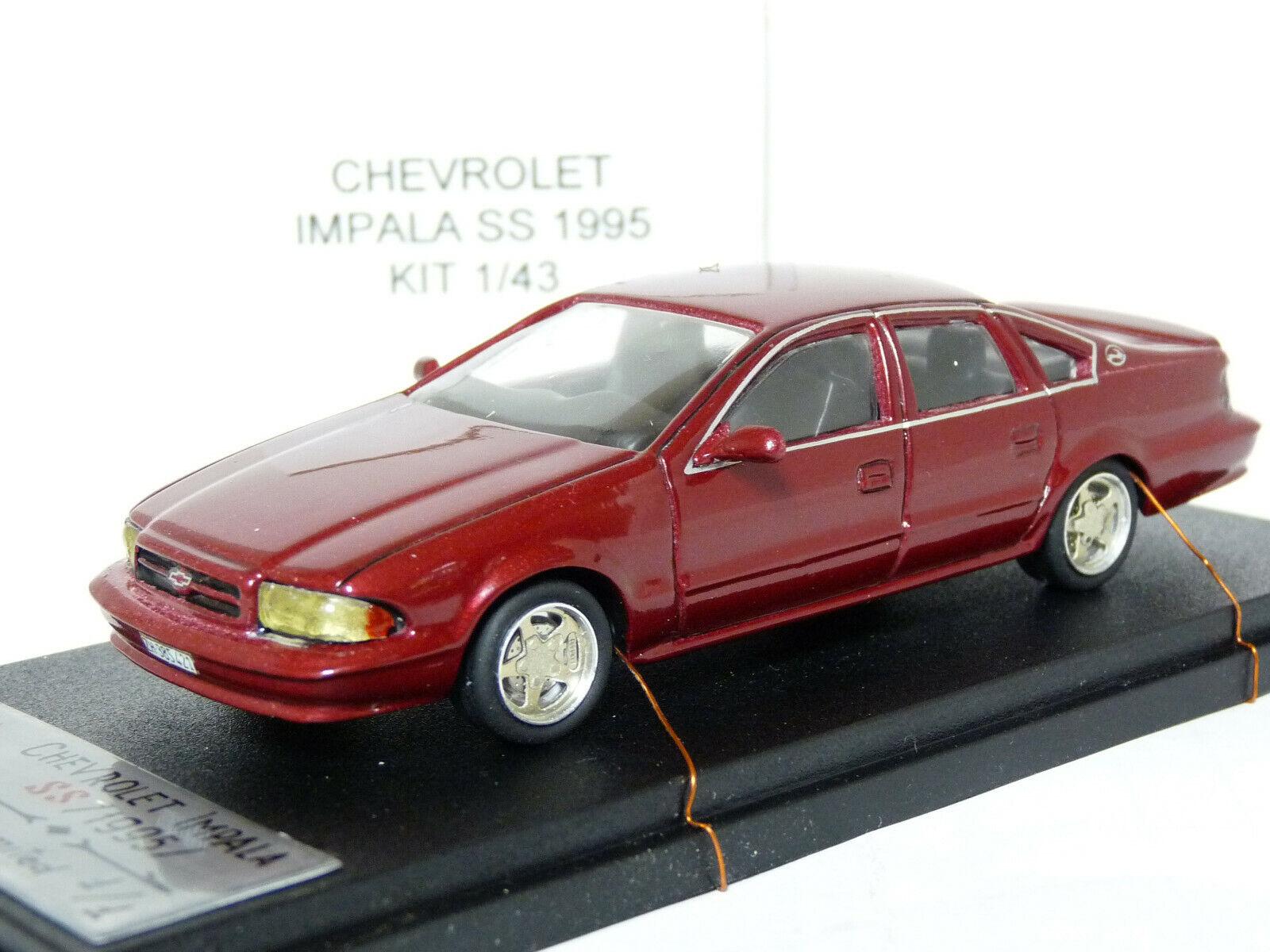 MeMod 1 43 1995 Chevrolet Impala SS Handmade Resin Model Car Kit