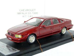 MeMod-1-43-1995-Chevrolet-Impala-SS-Handmade-Resin-Model-Car-Kit