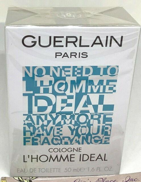 GUERLAIN PARIS COLOGNE L'HOMME IDEAL 1.6oz/50ml EDT CELLOPHANE SEALED BOX NEW