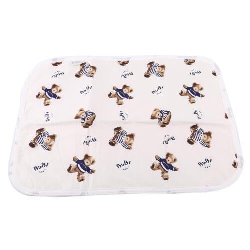 Cute Baby Changing Mat Infants Waterproof Mattress Cushion Reusable Diaper 6L