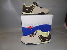 NEW Womens Size 10 Medium KangaROOS Climb Beige & Brown Athletic / Casual Shoes