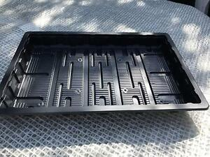 5 Packs of Seeds 24s Gone Potty 10 X SEED TRAYS WITHOUT HOLES ; 10 x INSERTS