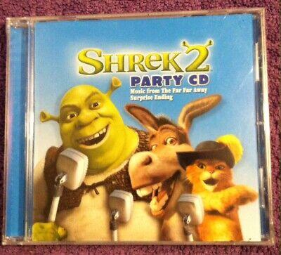 2004 Shrek 2 New Sealed Cd Movie Soundtrack Music From The Far Far Away Ebay