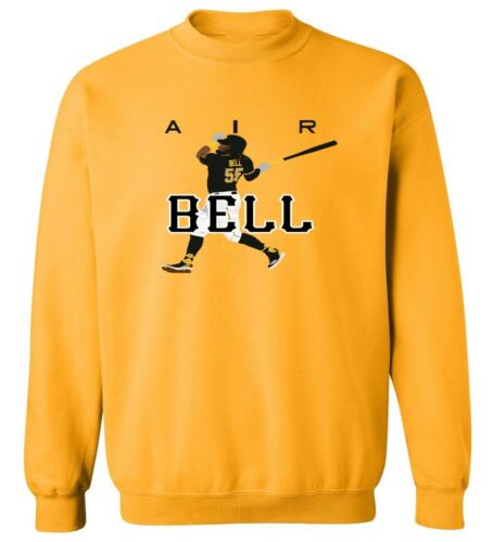 "Josh Bell Pittsburgh Pirates /""AIR/"" HOODED SWEATSHIRT"