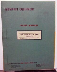 1969-Memphis-Equipment-GMC-21-2-Ton-6X6-M-Series-Hydramatic-Parts-Book-Military