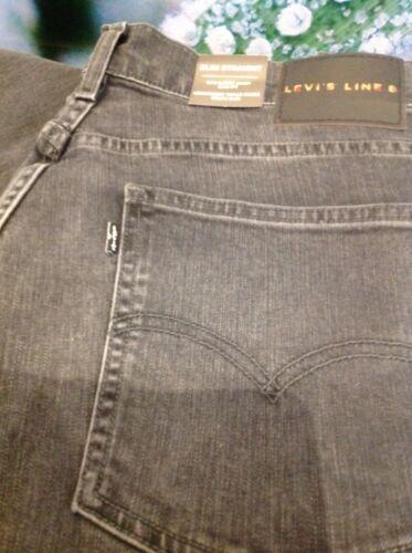 8 Jeans L32 Levi's W34 Destruction Gris Droit Évasé Homme Moyen Slim Ex8w7qBPn8