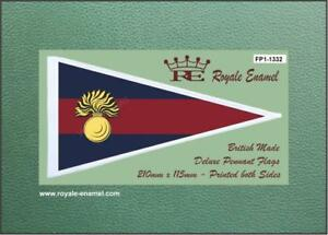 Royale Military Pennant Flag - THE GRENADIER GUARDS CAP BADGE - FP1.1332