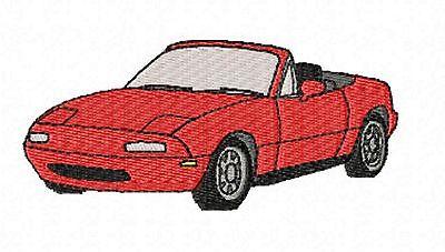 Mazda MX5 Mk1 Embroidered /& Personalised Hoodie