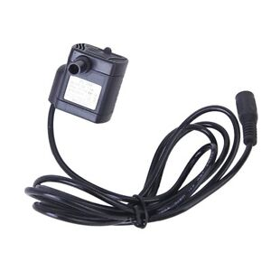 Micro Brushless Dc Pump Dc-1020 Black Apprehensive New Dc12v Fountain Pump Fish & Aquariums