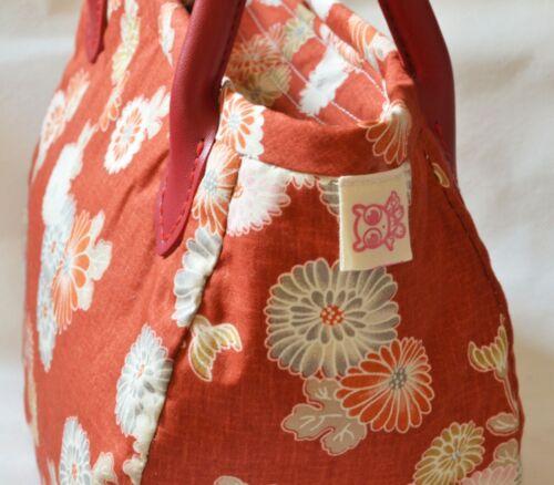 Handgemachte Floral Hobo Frauen Licht Blume Chrysantheme Handtasche Qteen HOwRdH