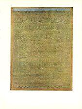 """1967 Vintage PAUL KLEE """"PASTORAL (RHYTHMS)"""" FABULOUS COLOR offset Lithograph"""