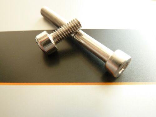 Schrauben M4 Innensechskant Zylinderschrauben DIN 912 A2 M3