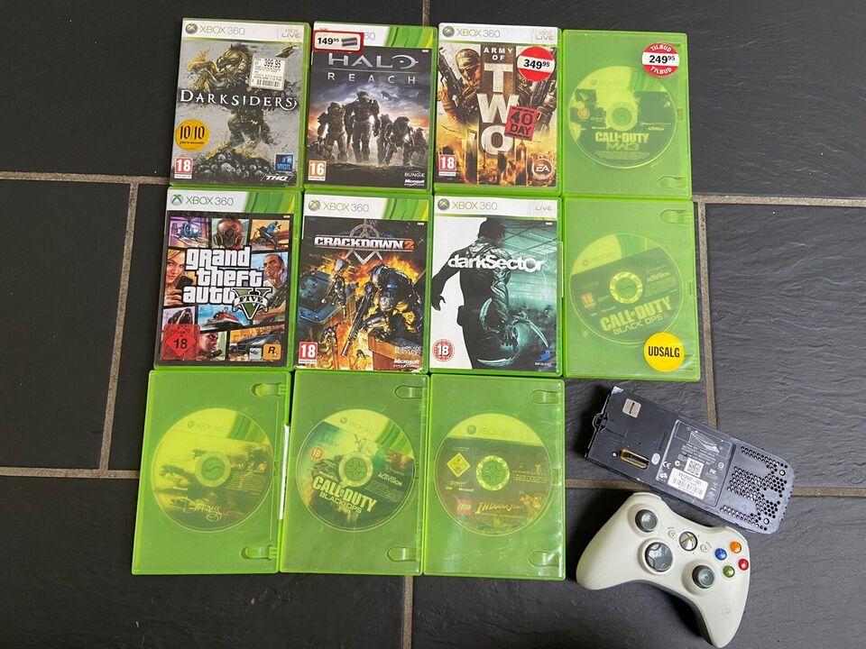 De bedste 11 spil, hdd og controller, Xbox 360