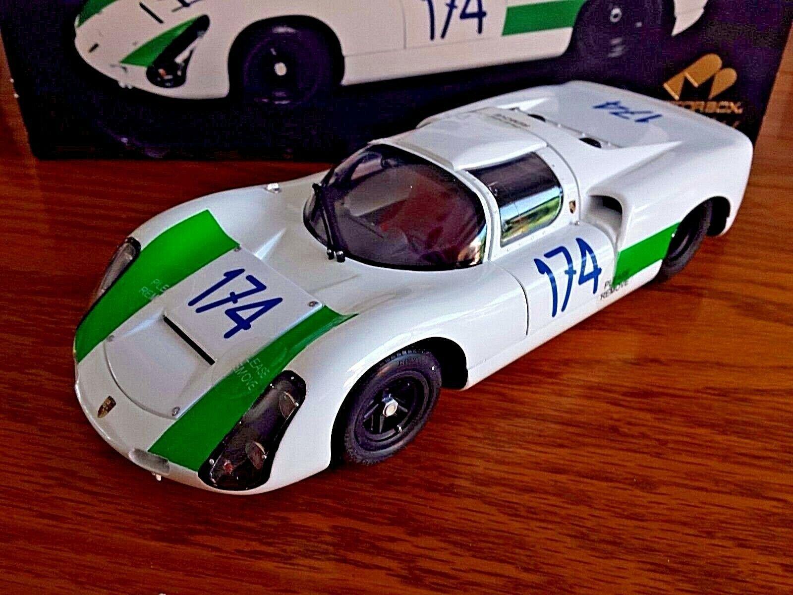 Obtén lo ultimo Exoto Porsche 1967 Targa Florio 174 Motorbox 1 1 1 18 Cella BISCALDI 1 18 escala M1  wholesape barato