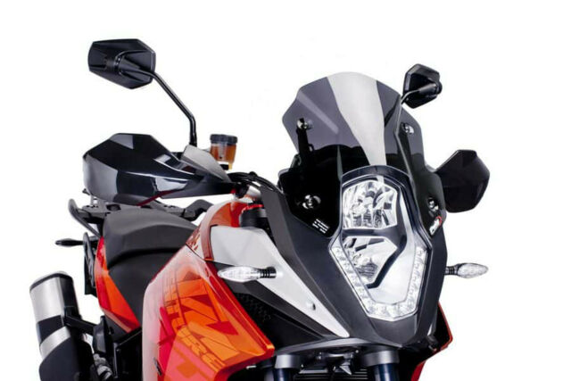 PUIG RACING SCREEN KTM 1090 R ADVENTURE 17-18 DARK SMOKE