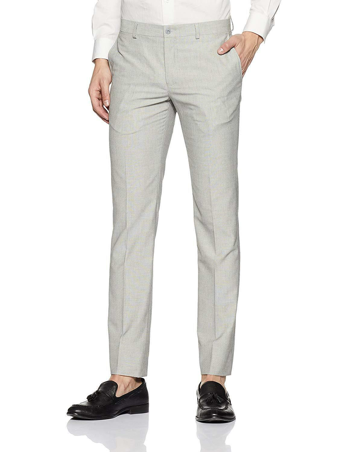 Xs,S,M,L,Xl,2Xl,3Xl-5Xl Pants Business Casual Straight Trousers Formal Suit New