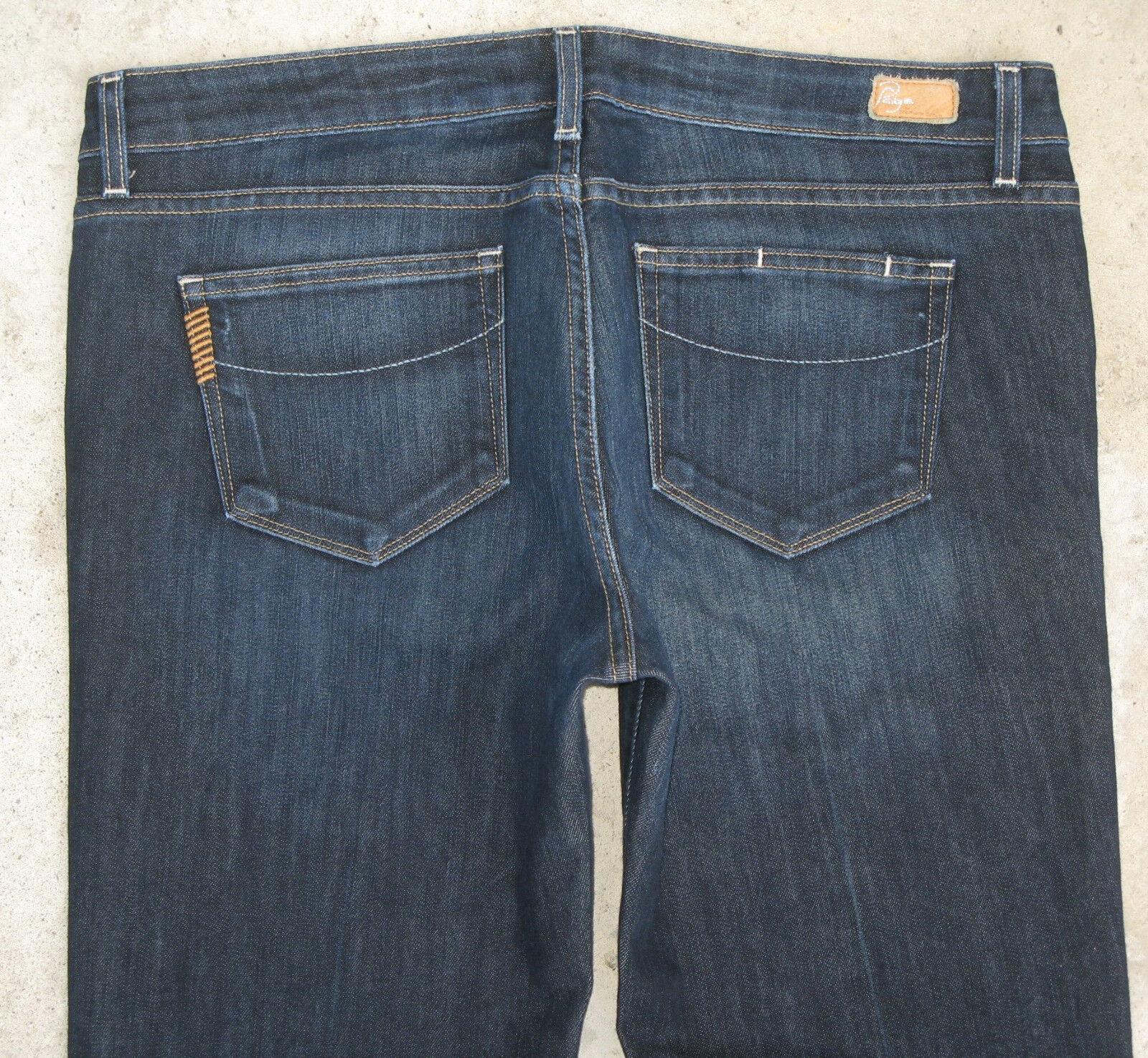 Paige Premium Jeans Womens Laurel Canyon Low Bootcut w Stretch Sz 32
