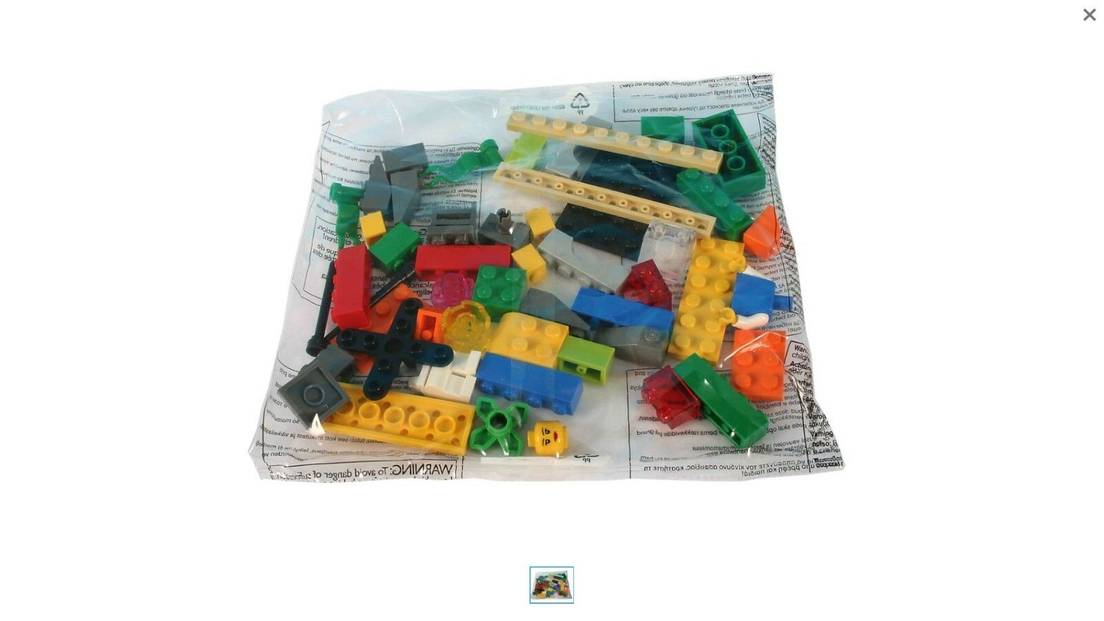 LEGO 2000409 KIT ESPLORATIVO LEGO 4900 PZ.